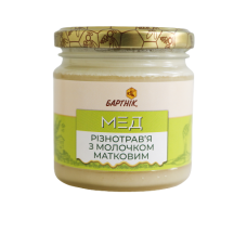 Natural honey with royal jelly 250g