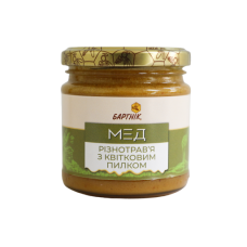 Natural honey with pollen 250g