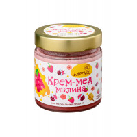 Крем-мед малина 250 грам
