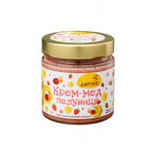 Крем-мед полуниця 250 грам