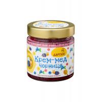 Крем-мед чорниця 250 грам